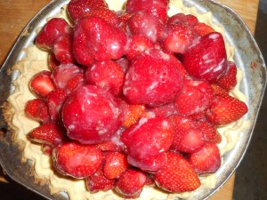 strawberry pie and more flowers 005