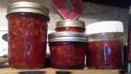 strawberry basil jam 1