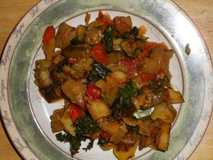 eggplant potato curry 001