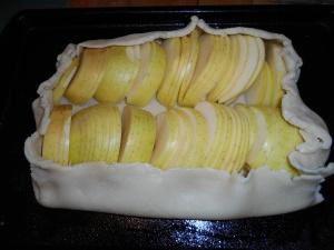 apple galette 009