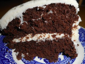 chocolate cake 001