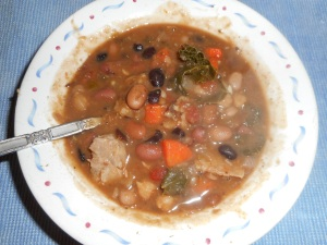 ten bean soup 017