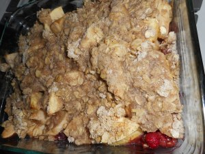 yogurt and apple crisp 010