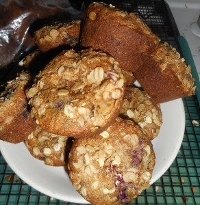 spagetti and raspberry muffins 001