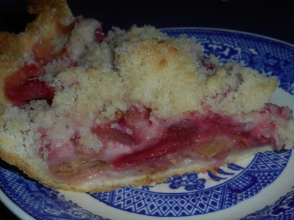 strawberry rhubarb pie 011