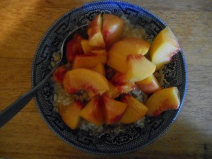 oatmeal peachy 001