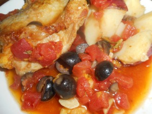 chicken with olives 003