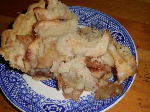apple pear pie, squash, chicken and dumplings 019