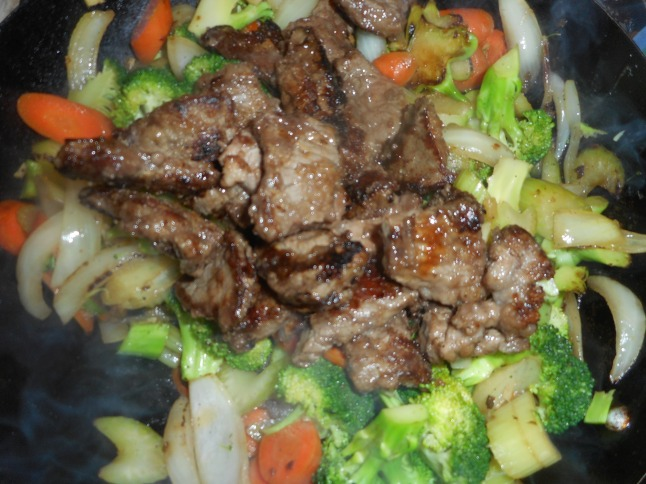 lemon blooms and beef with broccoli 010