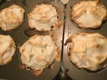 lemon tartlets just baked
