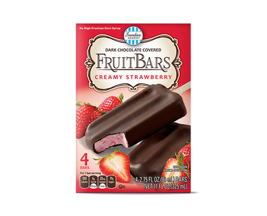 strrawberry fruit bar