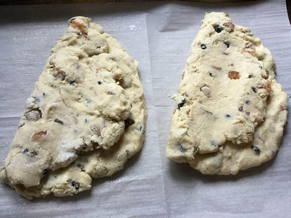 stollen ready to bake