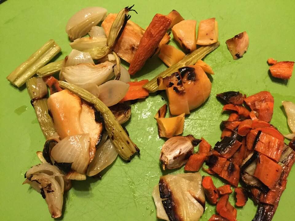 roasty veggies