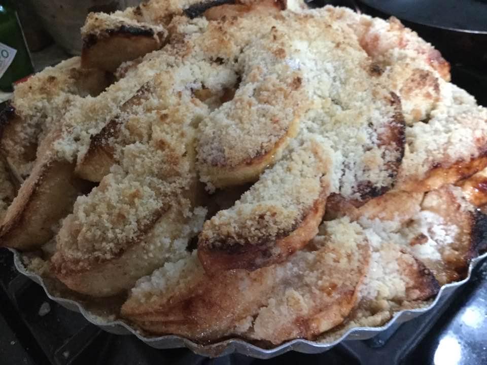 apple pie done