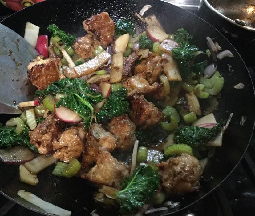 meatball stir fry 2