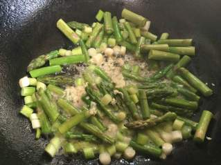 seafood spagetti veggies